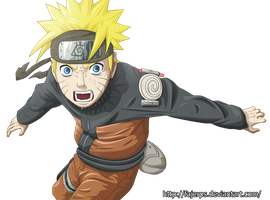 Naruto render by FajerPS