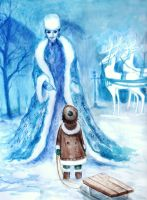 The Snow Queen by elicenia