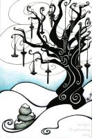 The Spindle Tree by rachelillustrates