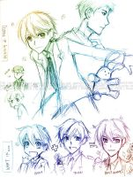 Ouran Sketches - Hunny by gem2niki