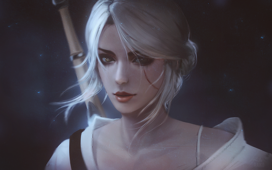 Witcher: Ciri by raikoart
