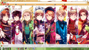 HETALIA CHROME THEME. by BARELA