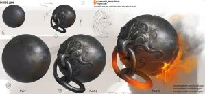 Lesson02 Metal Study_Metal Ball by DongjunLu