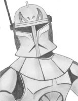 Captain Rex by MasterVash101