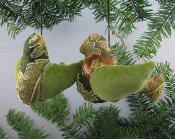 Bird Ornaments, style H by Keyshe54