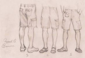 male leg practice by LifeUpsideDown