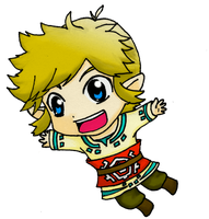 Chibi Link - Skyward Sword by EasterEgg23