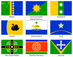 Australian Flags by rubberduck3y6