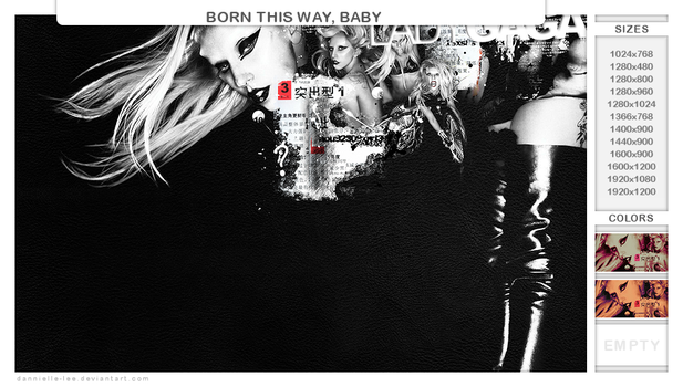 born this way, baby by dannielle-lee