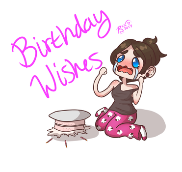 Birthday doodle by RoxieTheDerp