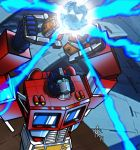 Optimus Prime--The Touch by ragingnin77