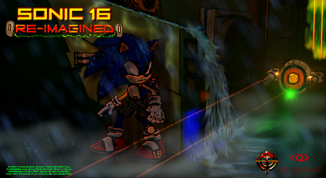 Sonic 16 - Re-imagined 'Visual Game-Play Concept' by ZentrixStudios