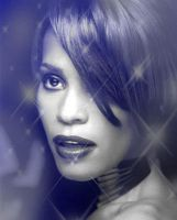 Whitney Houston Tribute by LilyDeviant