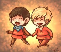 Some Merthur by Annchyka