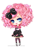 [Normal Chibi Com] for Katie0513 by Kazhmiran