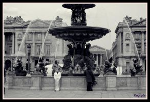 Place de la Concorde by blackpurplex