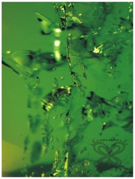 Green Abstract 14 by LenaRaven