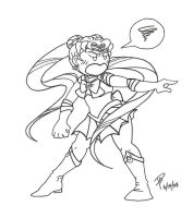 Sailor Moon:  Angry Usagi by projectautumn