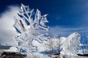 Ice Sculpture by LowBFlat