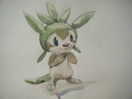 Chespin! by Rachaechae