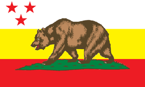 Kaiserreich Flag #3: Pacific States of America by AlternateHistory