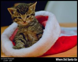 Where Did Santa Go by KSPhotographic