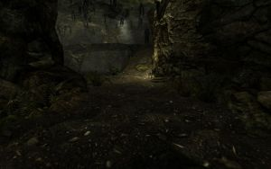 He is watching you Skyrim by Annatiger1234