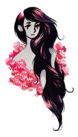 Marceline the Vampire Queen by heikala