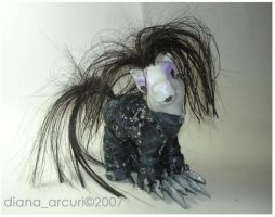 MLP Custom-Edward Scissorhands by BlackAngel-Diana