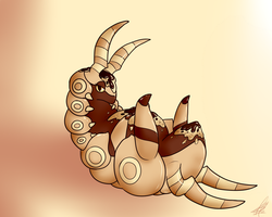 White chocolate scolipede by ShikkaTL