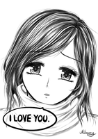 I love you. by Milasery