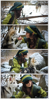 .: Bounding With Wolf-cub :. by TheLupin
