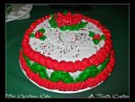 Mini Christmas Cake by Tizette-Creations