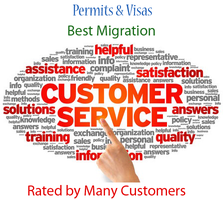 Best reviewed Customer Immigration Services by Permitsvisascomplain