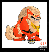 Arcanine!  Pokemon One a Day! by BonnyJohn
