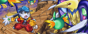 Klonoa Vs Baladium by Hyrika