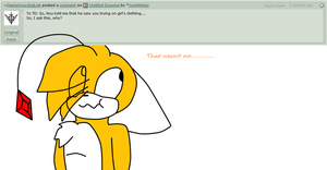 Ask Tails Doll question #427 by YoshiMister