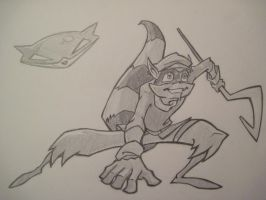 Sly Cooper by Kumadawg