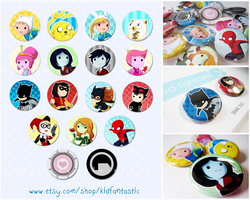 Etsy Buttons by WhipsmartMcCoy