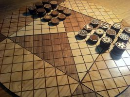 Pai Sho Game Board by blazerdesigns