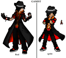 gamist pokemon sprite enlarged by GamistTH