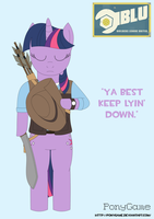 Sniper Twilight Sparkle by PonyGame