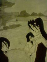 Byakuya's relaxing walk. by Yatorima