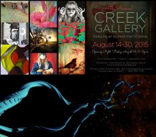 Creek Gallery Exhibition by MKSchmidt