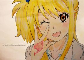 Lucy-Thank you watchers by Angel-Tsuki
