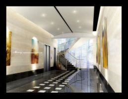 Office Building Enterance 2 by mohamedmansy