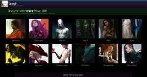 Summary of art 2011 by anndr