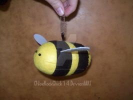 Cas the bumblebee plushie by ChloeRockChick14