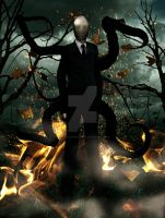 Slenderman by DavidDarkheartKing