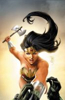 Wonder Woman 32 by JPRart